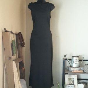 Mix It, Charcoal Maxi Dress